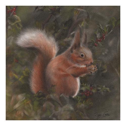'Nibbles' Giclée Fine Art Print