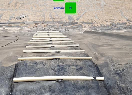 Geoescaleras para tranques