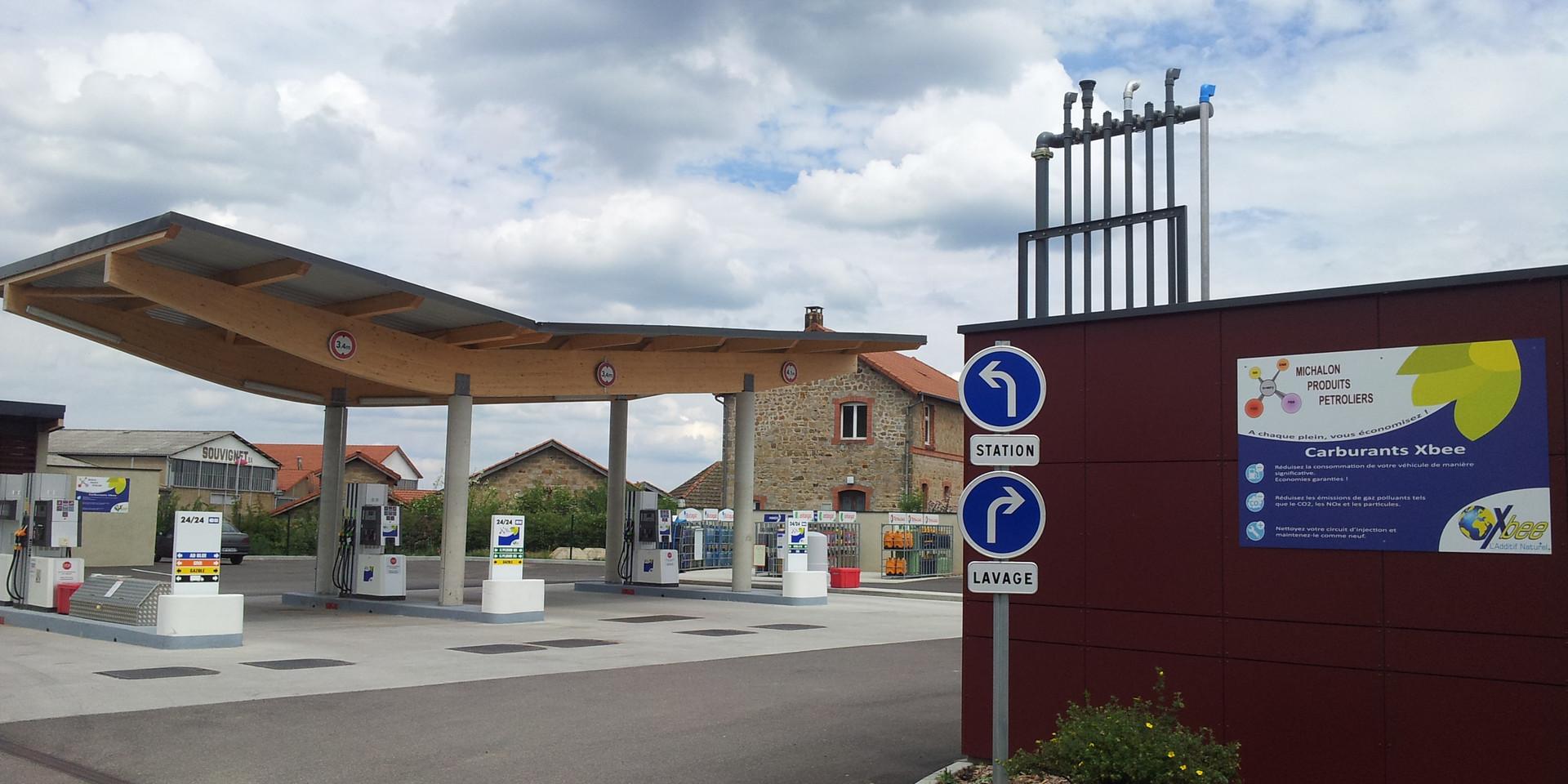 Entrée station-services