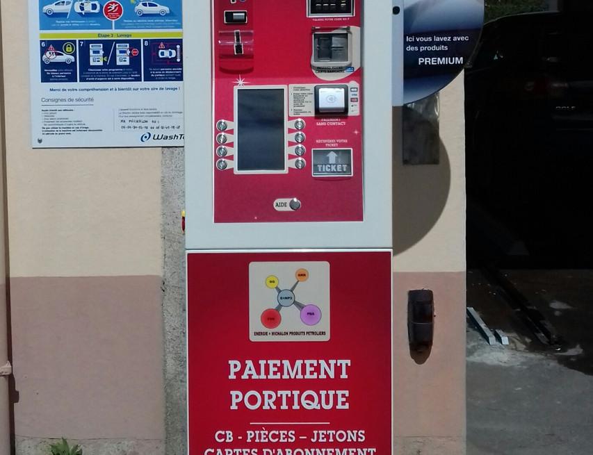 Borne multi-paiements