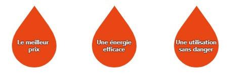 Fioul domestique - Le meilleur prix - Une énergie efficace - Utilisation sans danger
