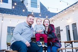 Christmas Family Portraits in Irving