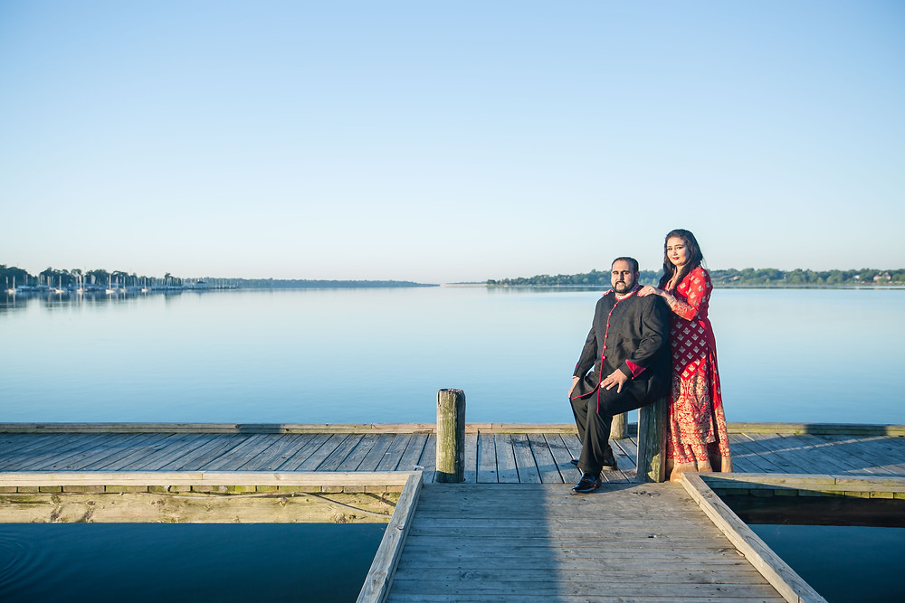 White Rock Lake Engagement Shoot