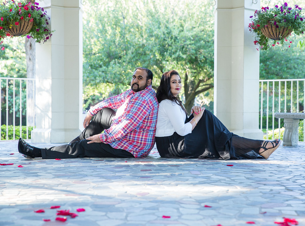 Engagement Shoot in Highland Park Dallas