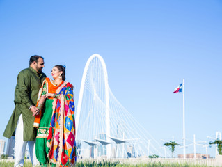 Engagement Shoot: Punjab to Dallas!