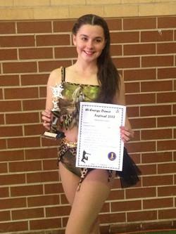 1st place dance