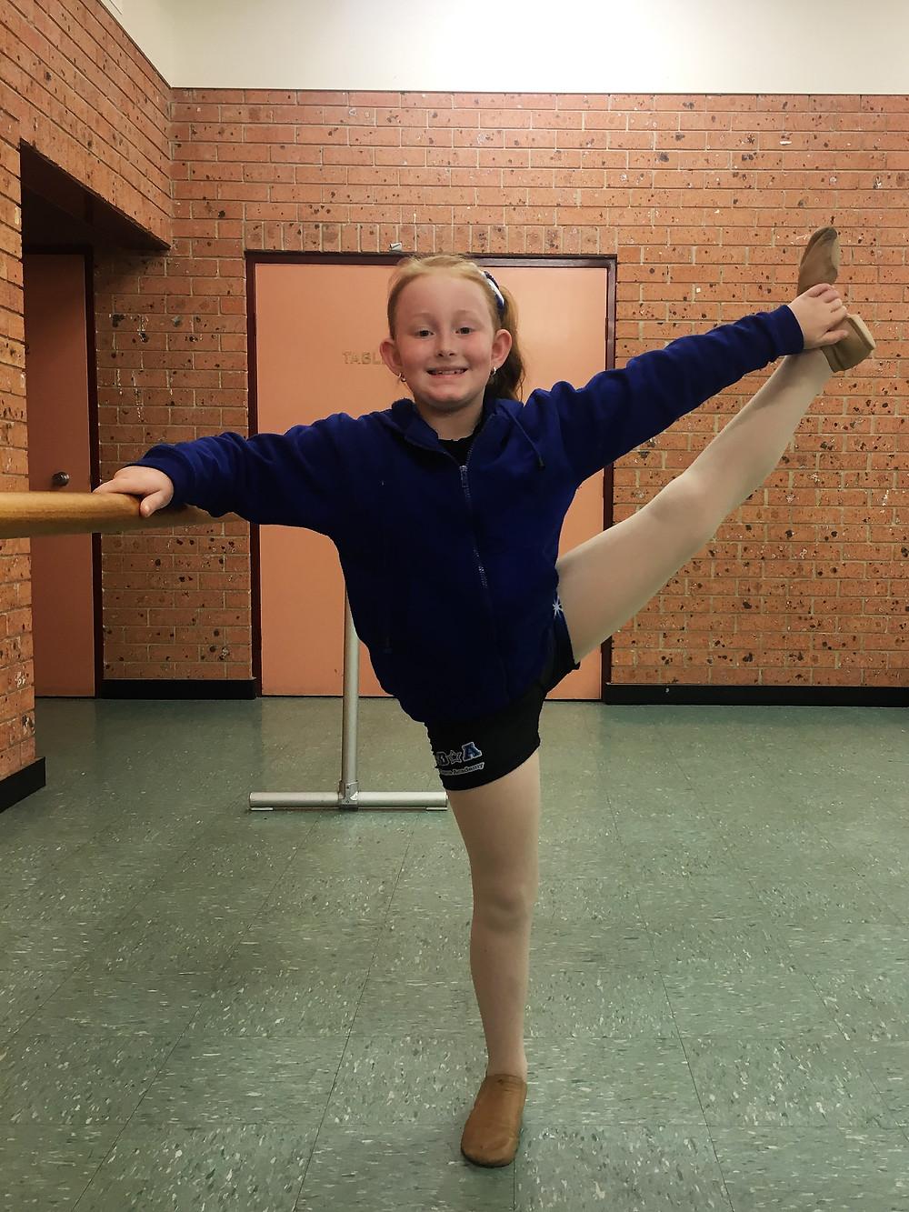Jeanette Briggs Dance Academy Stretch Class