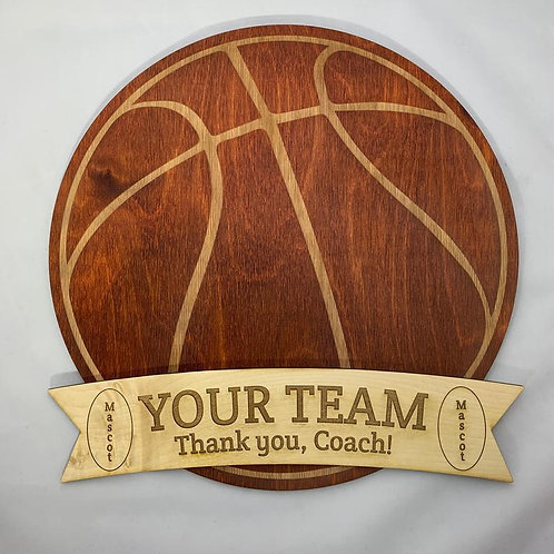 Personalized Coach's Gift