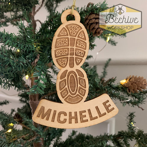Running Shoe Ornament