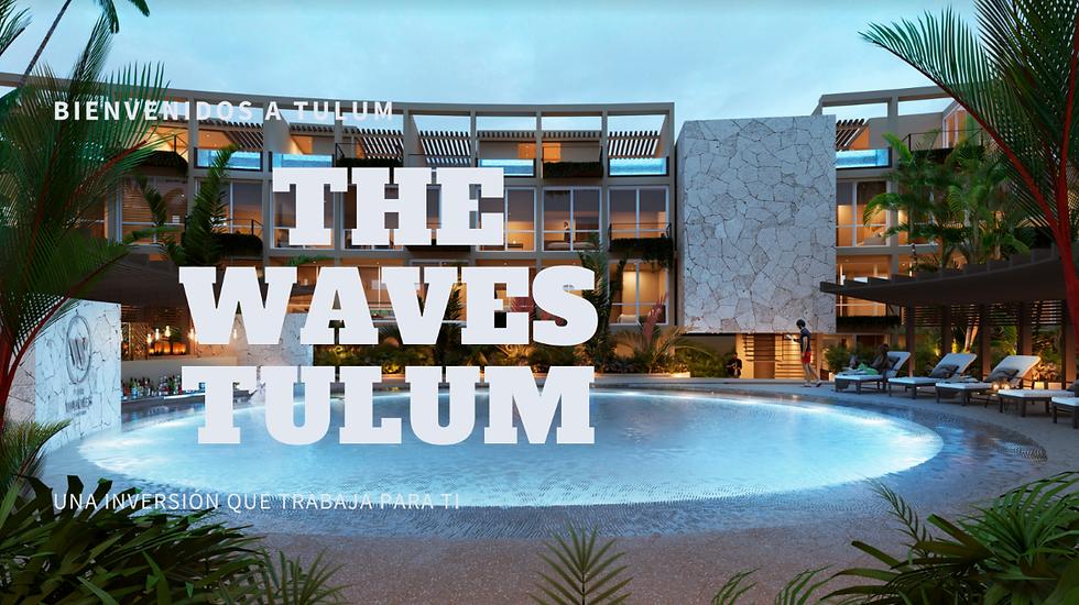 Condo-Hotel en Venta - The Waves - Tulum