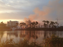Orange Beach Condo fire