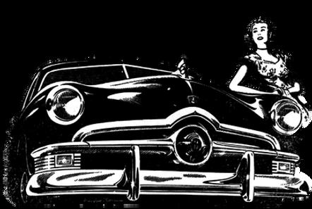 Megaton Cafe Radio Retro Vintage Car