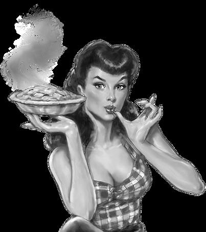 Megaton Cafe Radio Vintage Holiday Girl_