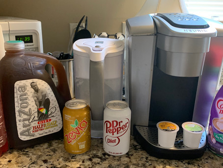 What I did: Keep control of beverages
