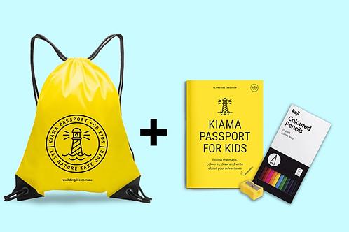 Kiama Passport for Kids Backpack Bundle