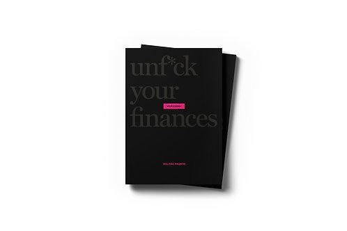 Unf*ck Your Finances Workbook