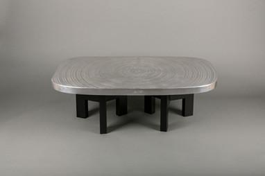 """""""Goutte d'eau"""" 120cm x 70cm Piétements en acier peint en noir Existe en différents formats"""