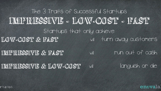 The 3 traits of successful startups