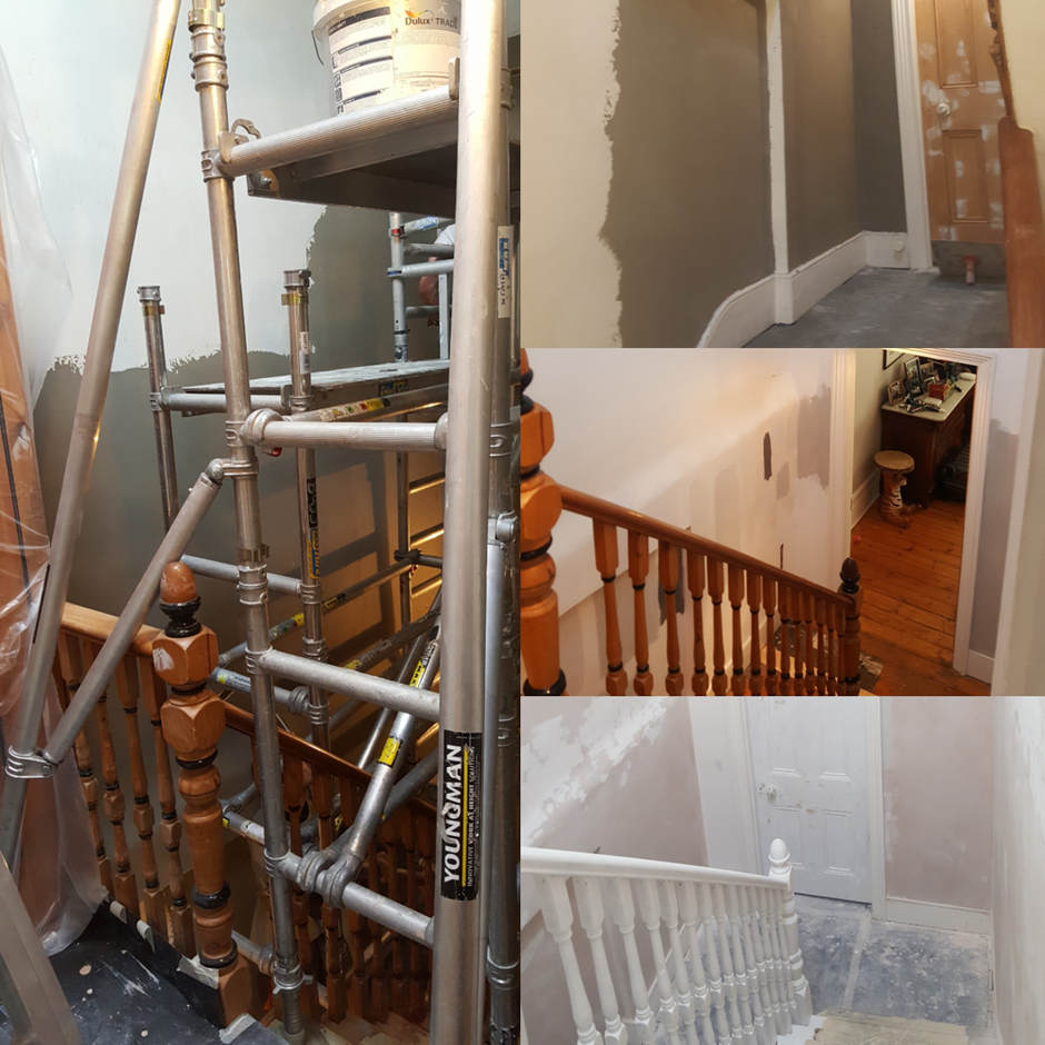 Interior redecoration of 4 bedroom house in Crouch End. Before.