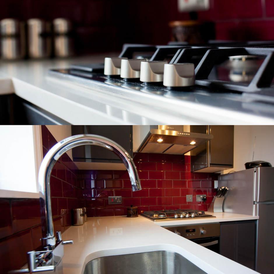 Kitchen renovation near Wandsworth Common.
