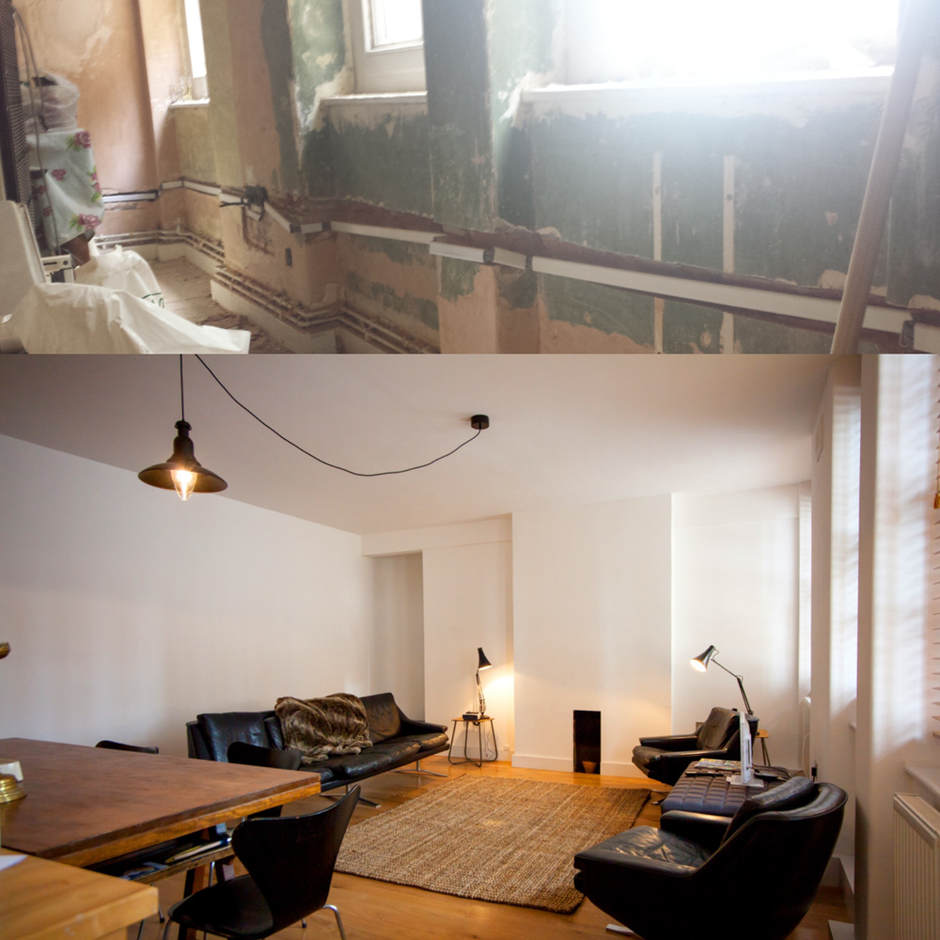Apartment renovation in Chelsea.