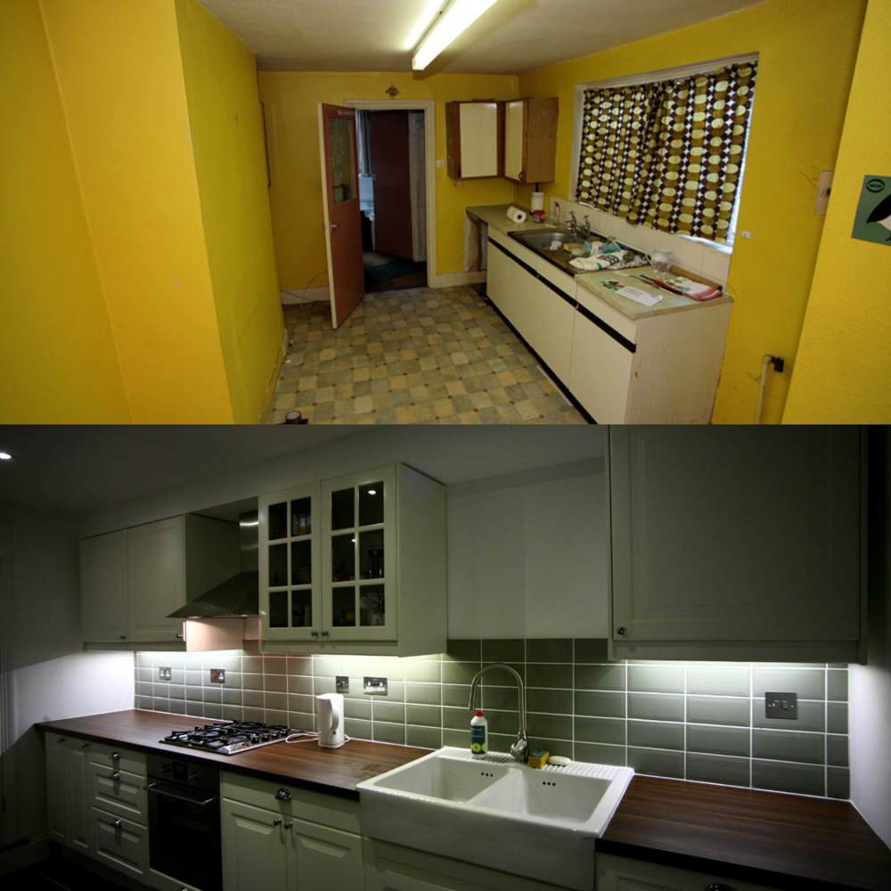Renovation of a 2 bedroom flat in Lewisham.