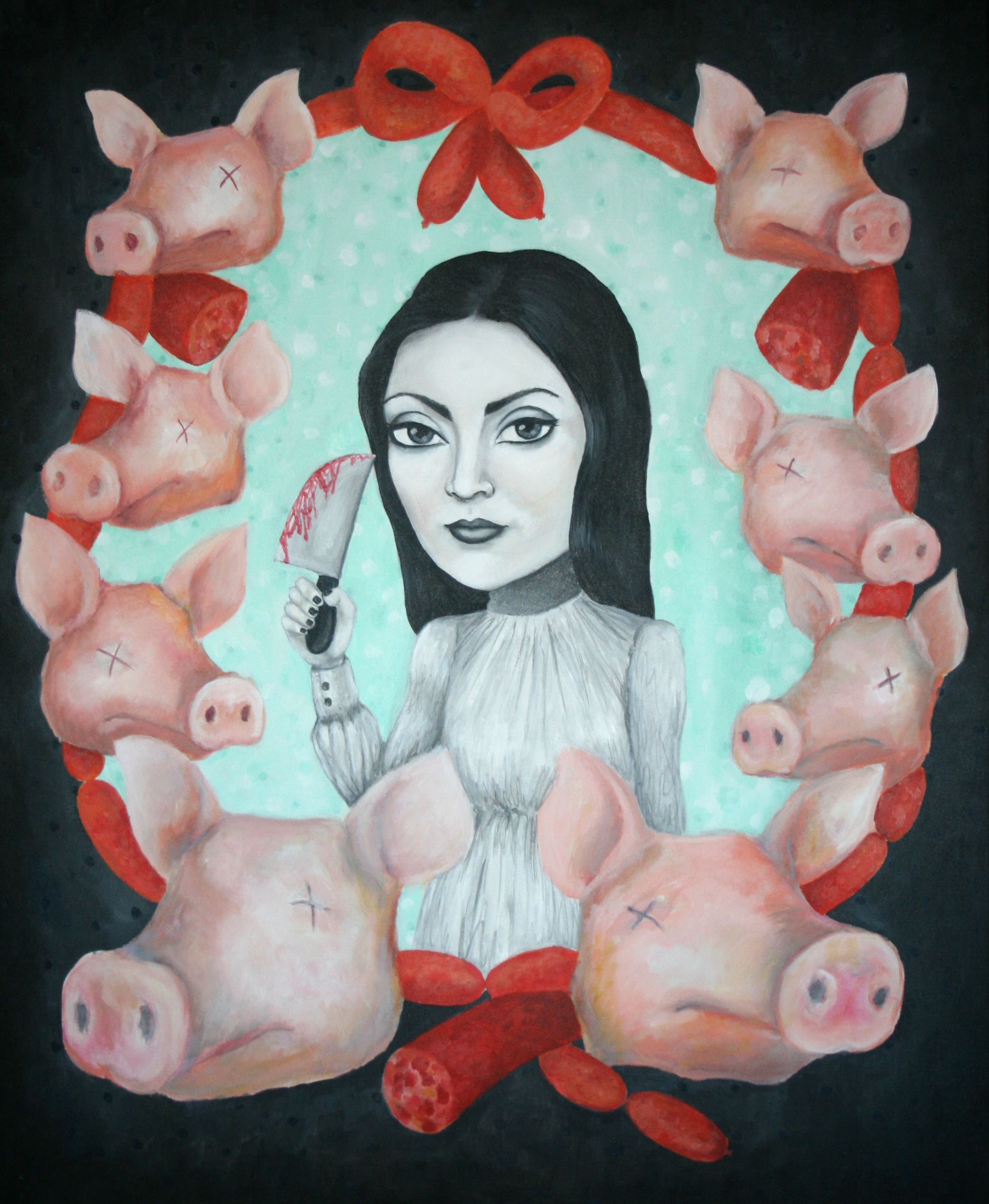 Cerdos y chorizos