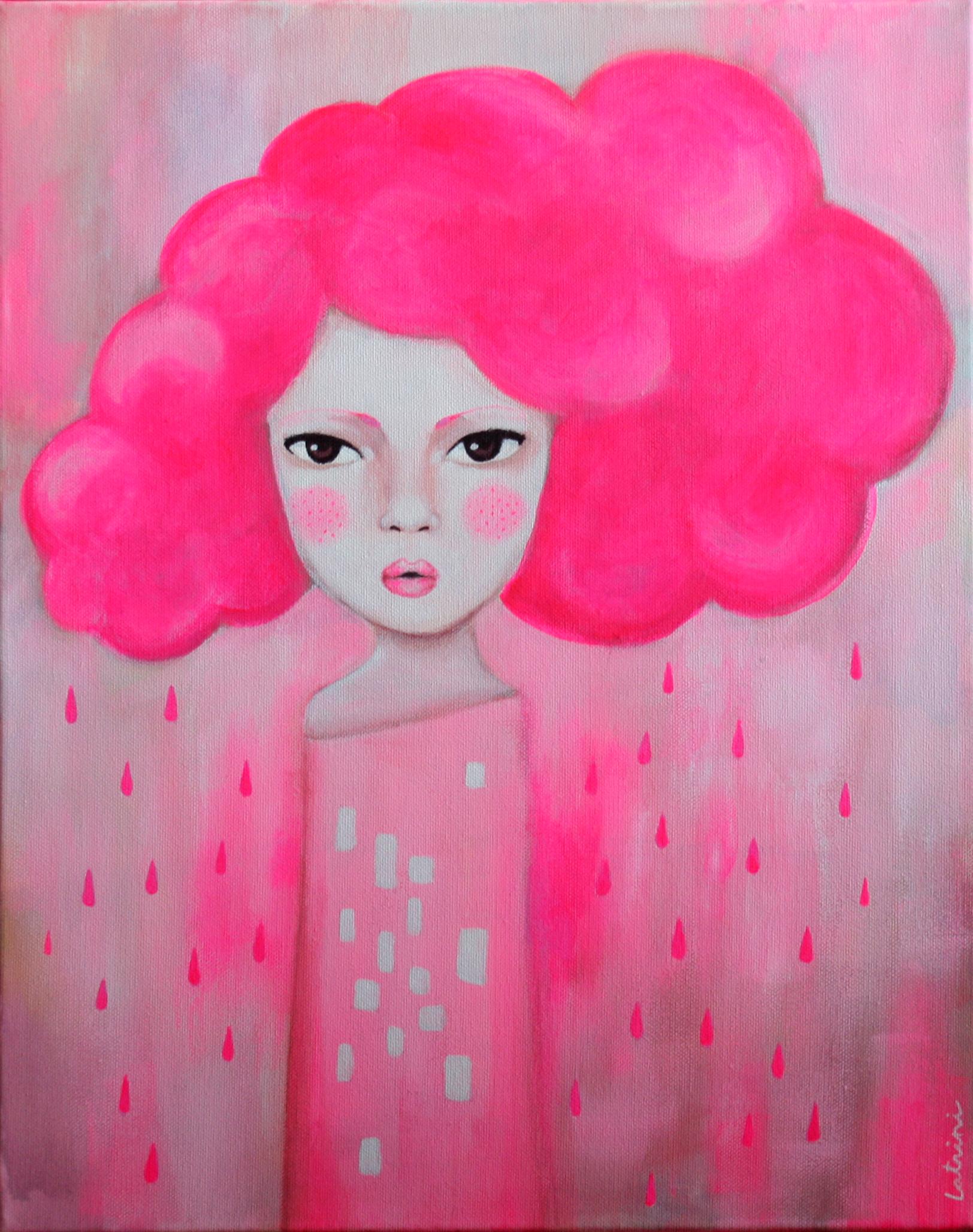 La nube rosa