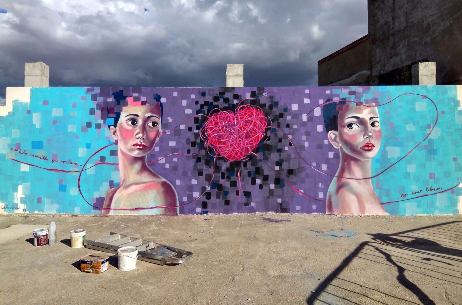 Mural .Festival arte urbano