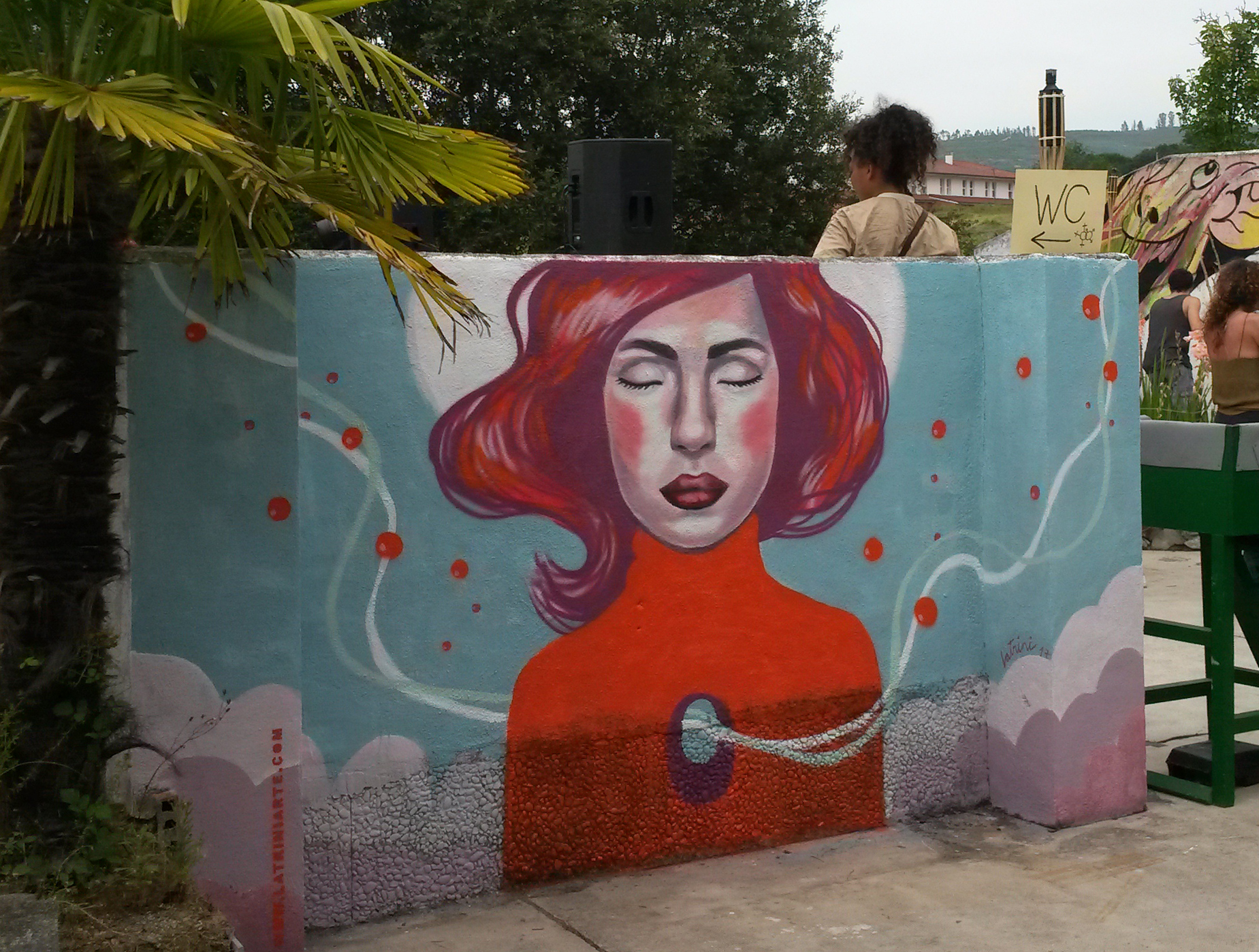 Residencia Stay and Job (live paint)