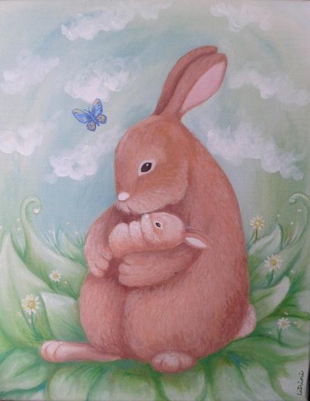 Mamá conejo