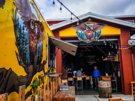 The Brown Owl  (The Box Factory) - Bend, Oregon