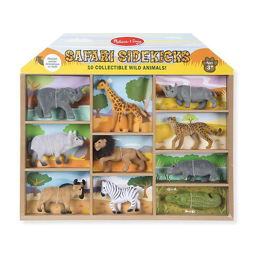 Safari Sidekicks - 10 Collectable Wild Animals
