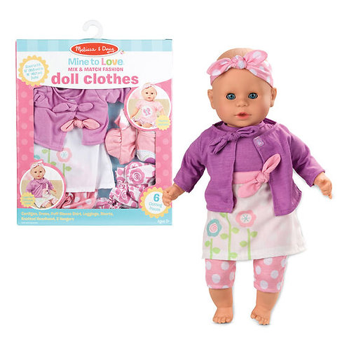 Mix and Match Fashion Doll Clothes