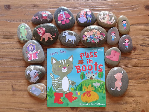 Story Stone Gift Set - Puss in Boots