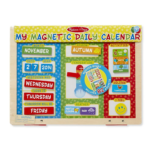 My First Daily Magnetic Calender