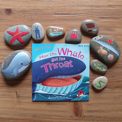 Story Stone Gift Set - How the Whale got his Throat