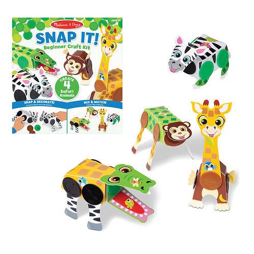 Snap it! Craft Kit - Safari