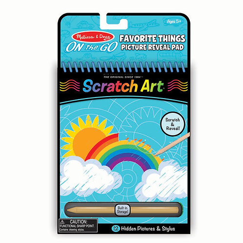 Scratch Art Color Reveal Pad - Favorite Things