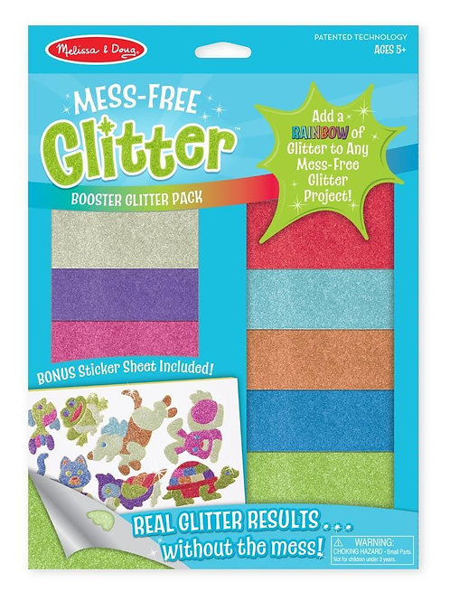 Mess Free Glitter - Booster Pack
