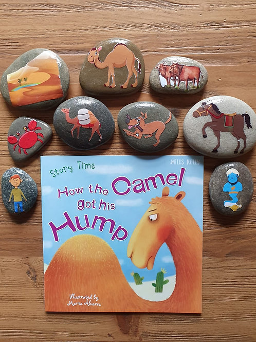 Story Stone Gift Set - How the Camel got his Hump
