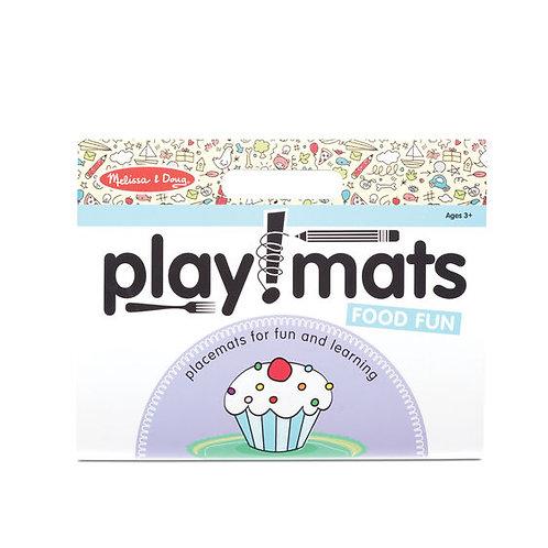 Play Mats - Fun Activity Pad - Food Fun