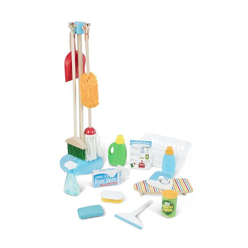 Deluxe Cleaning and Laundry Play Set