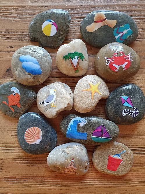 Story Stones - Beach (13pc)