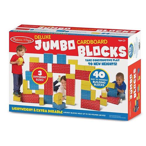 Deluxe Jumbo Carboard Blocks (40pc)