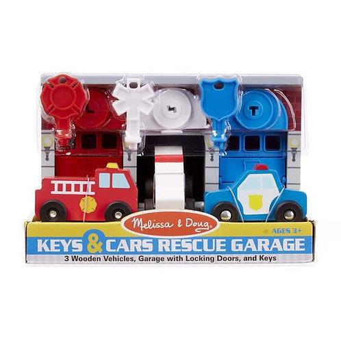 Keys and Car Rescue Garage