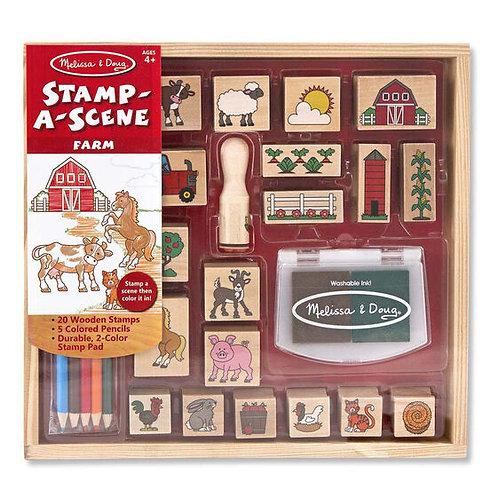 Stamp a Scene - Farm