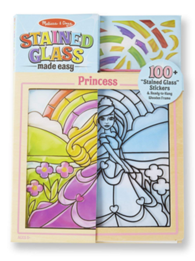 Peel and Press Stained Glass - Princess