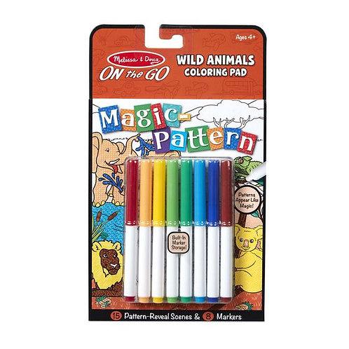 Magic Pattern Pad - Wild Animals