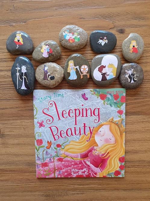 Story Stone Gift Set - Sleeping Beauty